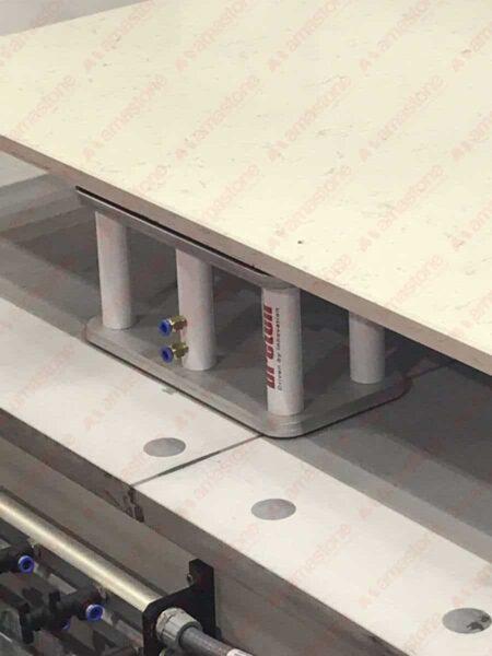 Amastone - Ventosa rettangolare 200x400 mm su CNC Breton