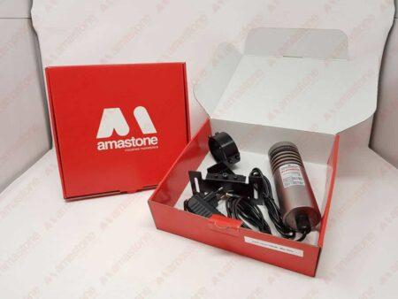 Laser Segnataglio Rosso 130mW - Big dentro scatolo di spedizione Amastone