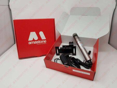 Laser segnataglio Verde 30mW - Slim dentro scatolo di spedizione Amastone