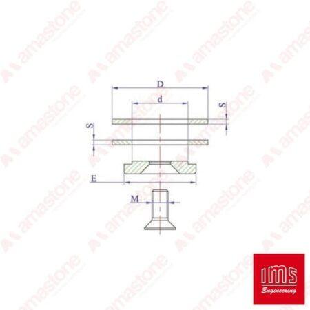 Kit di bloccaggio per cono portamola ISO 30