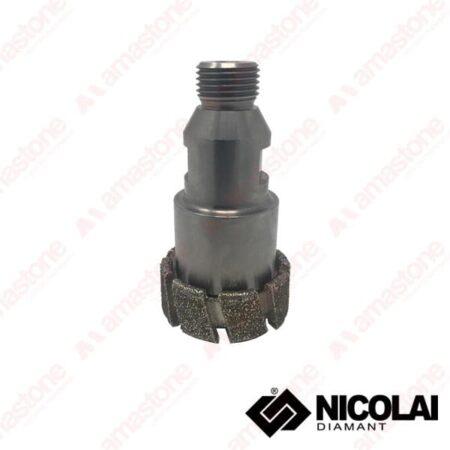 Nicolai – Mola da ribasso elettrodeposta diametro piccolo con adattatore 1/2 Gas a flangia