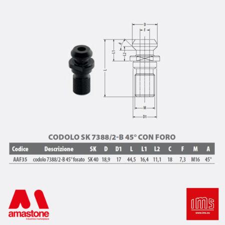 Aaf35 - Codolo Di Aggancio Cono