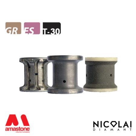 Mola da profilo 40 - Forma T30 R5 - Nicolai