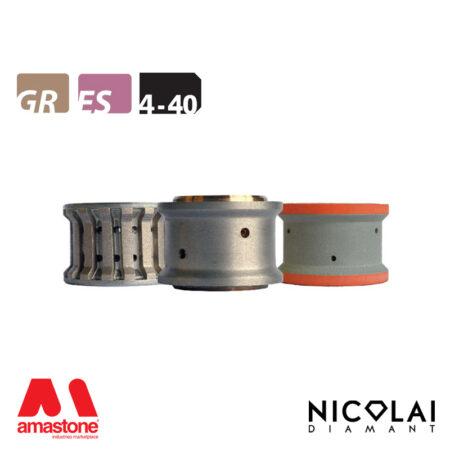Mola da profilo 60 - Forma 4-40 - Nicolai
