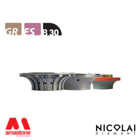 Mola da profilo XL - Forma B30 R30 - Nicolai