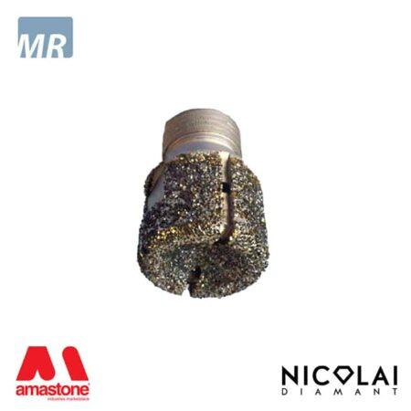 Mola da ribasso elettrodeposta 1/2 Gas - Marmo - Nicolai