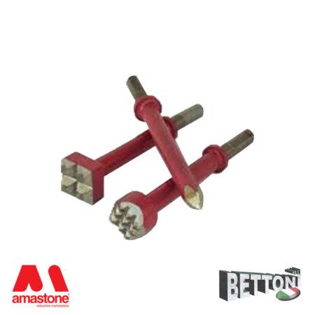 Bocciarda per martello pneumatico - Attacco 10.25 mm