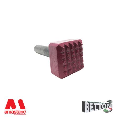 Bocciarda integrale per martello pneumatico