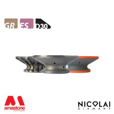 Mola da profilo 60 - Forma D30 - Nicolai