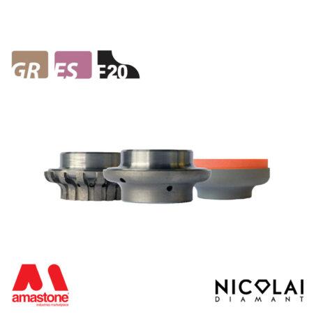 Mola da profilo 60 - Forma F20 - Nicolai