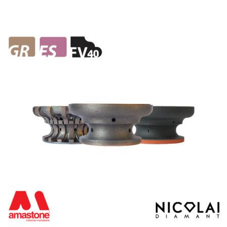 Mola da profilo 60 - Forma FV40 - Nicolai