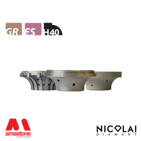 Mola da profilo 60 - Forma H40 - Nicolai