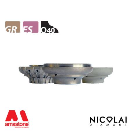 Mola da profilo 60 - Forma O40 - Nicolai