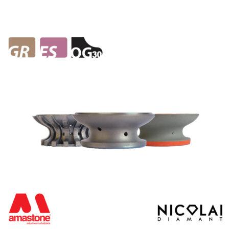 Mola da profilo 60 - Forma OG30 - Nicolai