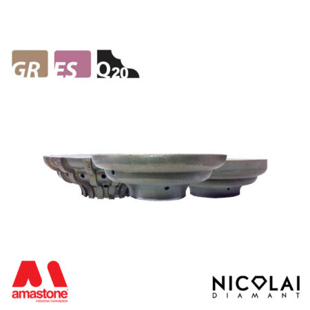 Mola da profilo 60 - Forma Q20 - Nicolai
