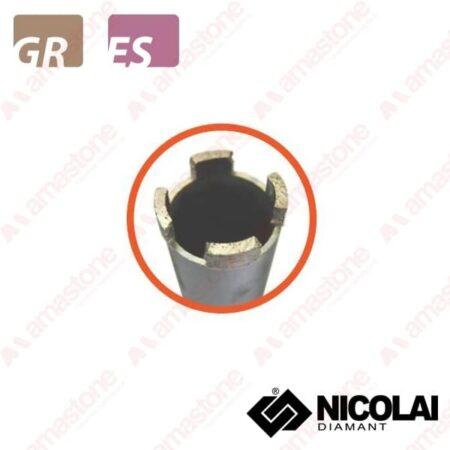 Nicolai – Foretto corona a settori - Granito, Agglomerato
