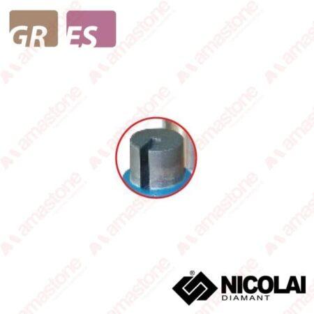 Nicolai – Fresa cilindrica - Granito, Agglomerato