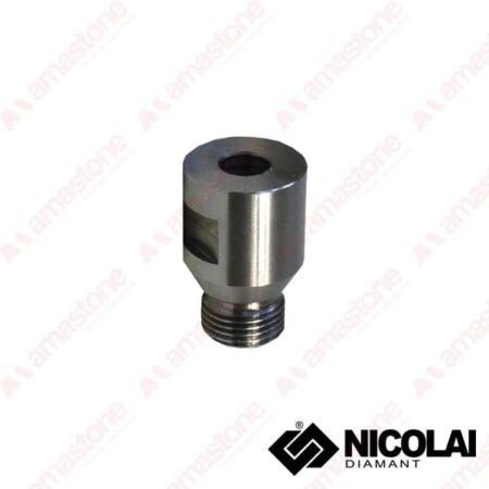 Nicolai - Adattatore 12 Gas Attacco cilindrico 10 mm