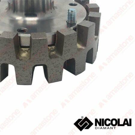 Nicolai - Mola da ribasso corona turbo - Granito, Agglomerato e Marmo