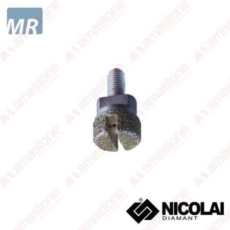 Nicolai - Testina Elettrodeposta per tagli incrementali - Marmo