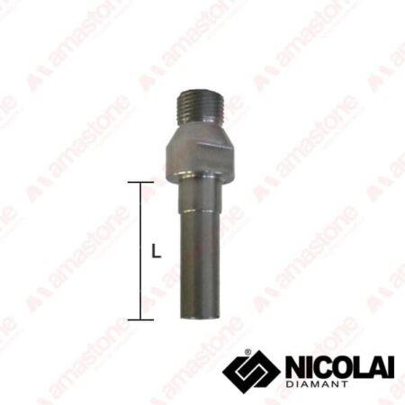 Adattatore Prolunga 1/2 Gas > M10, M12, M14 - Nicolai
