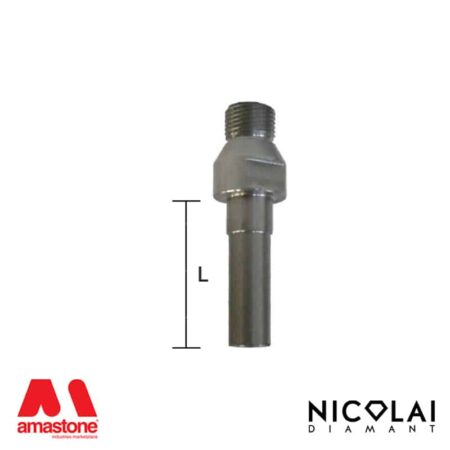 Adattatore Prolunga 1/2 Gas > M10, M12, M14