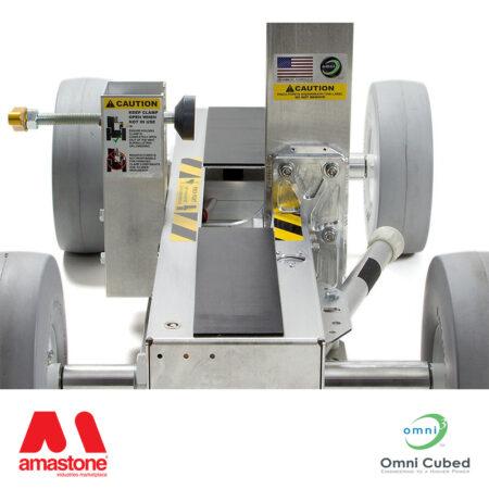 carrello porta lastre ad alzata elettrica pro-lift automatic - omni cubed