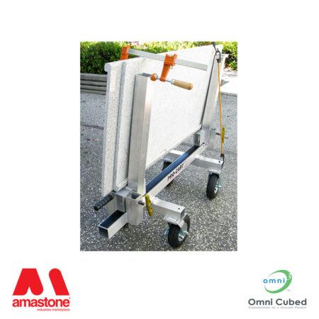coppia montanti per carrello pro cart at1 - omni cubed