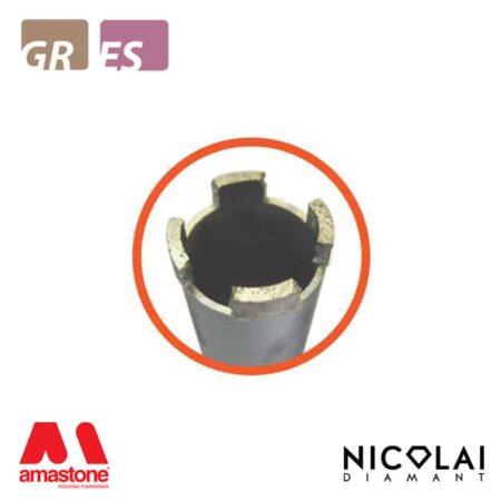 Foretto corona a settori - Granito, Agglomerati - Nicolai