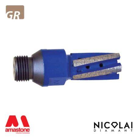 Fresa a candela Blue Z5 - Granito - Nicolai