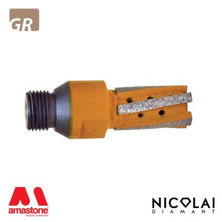 Fresa a candela Yellow Z5 – Granito – Nicolai