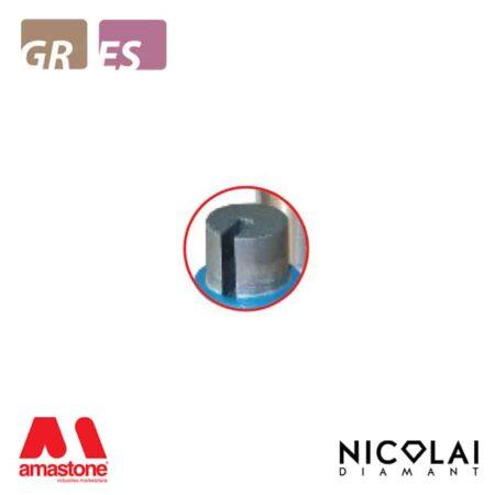 Fresa cilindrica - Granito, Agglomerato di quarzo - Nicolai
