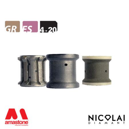 Mola da profilo 40 - Forma 4-20 - Nicolai