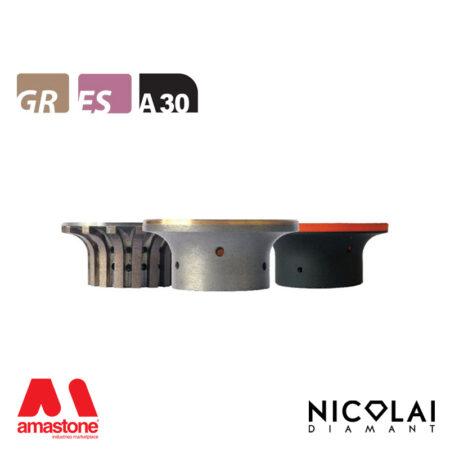 Mola da profilo 60 - Forma A30 - Nicolai