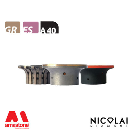 Mola da profilo 60 - Forma A40 - Nicolai