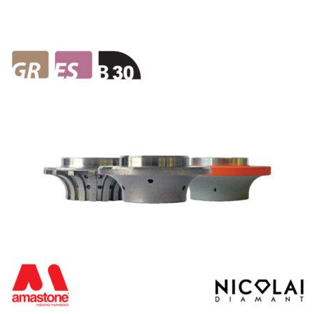 Mola da profilo 60 - Forma B30 - Nicolai