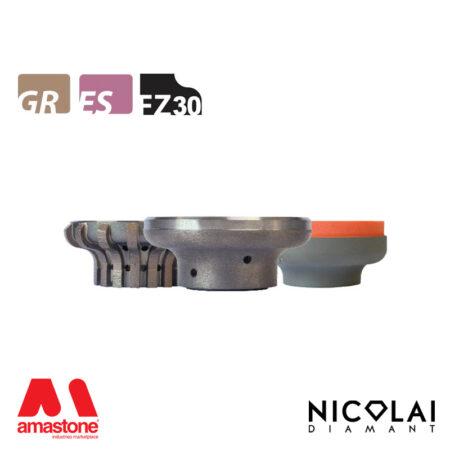 Mola da profilo 60 - Forma FZ30 - Nicolai