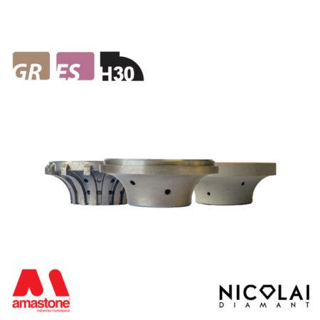 Mola da profilo 60 - Forma H30 - Nicolai