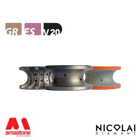 Mola da profilo 60 - Forma V20 - Nicolai