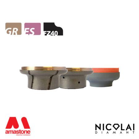 Mola da profilo XL - Forma FZ40 - Nicolai
