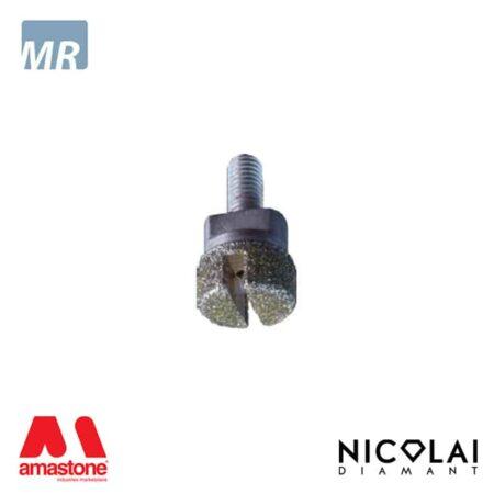 Testina Elettrodeposta per tagli incrementali Ø20 mm - Marmo - Nicolai