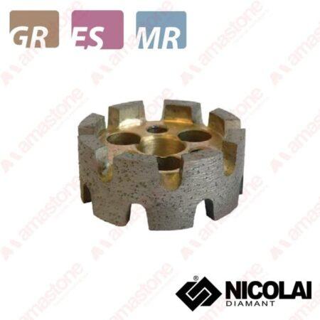 Nicolai – Mola da ribasso turbo – Granito, Agglomerato e Marmo