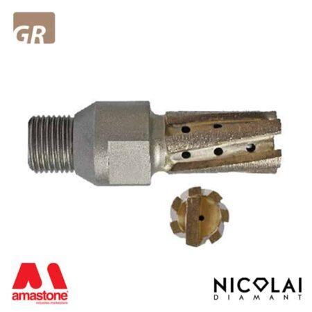 Fresa segmentata per tagli incrementali - Granito - Nicolai