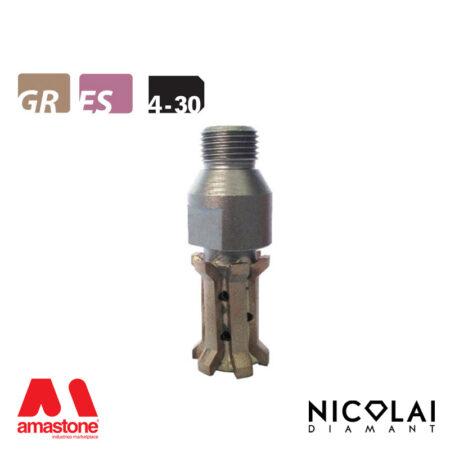 Mola da profilo 20 – Forma 4-30 - Nicolai