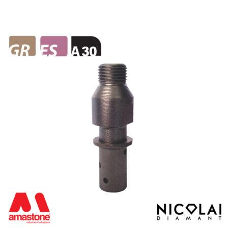 Mola da profilo 20 – Forma A30 R3 (Faccia sopra) - Nicolai