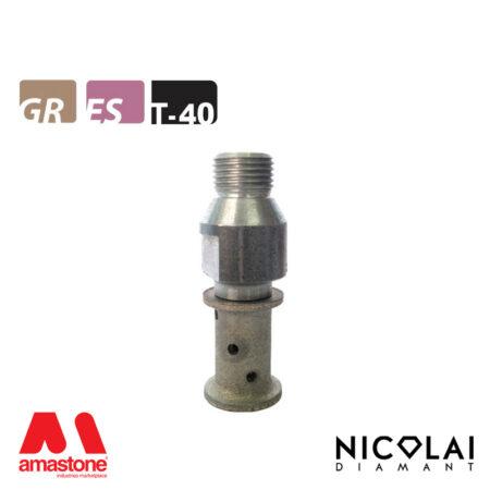 Mola da profilo 20 – Forma T40 R5 - Nicolai