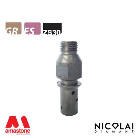 Mola da profilo 20 – Forma ZS30 (Faccia sopra) - Nicolai