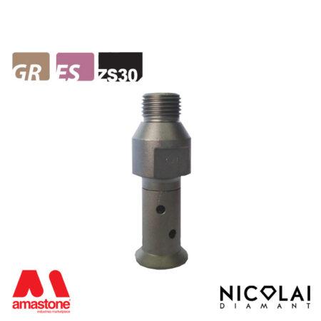 Mola da profilo 20 – Forma ZS30 (Faccia sotto) - Nicolai