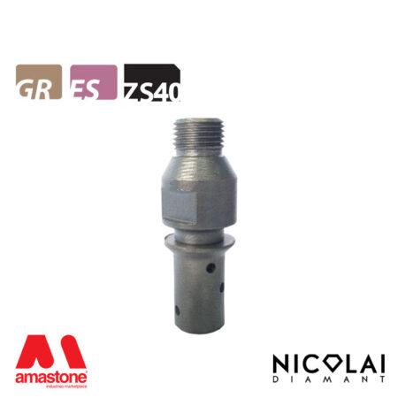 Mola da profilo 20 – Forma ZS40 (Faccia sopra) - Nicolai
