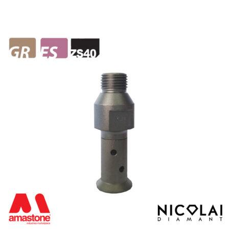 Mola da profilo 20 – Forma ZS40 (Faccia sotto) - Nicolai